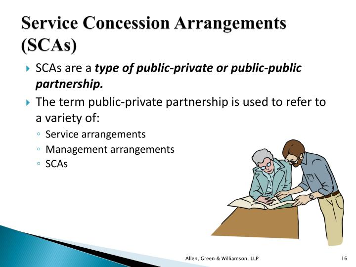 Service Concession Arrangements (SCAs)