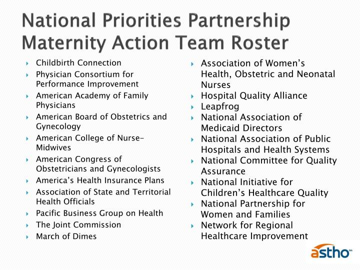 National Priorities Partnership