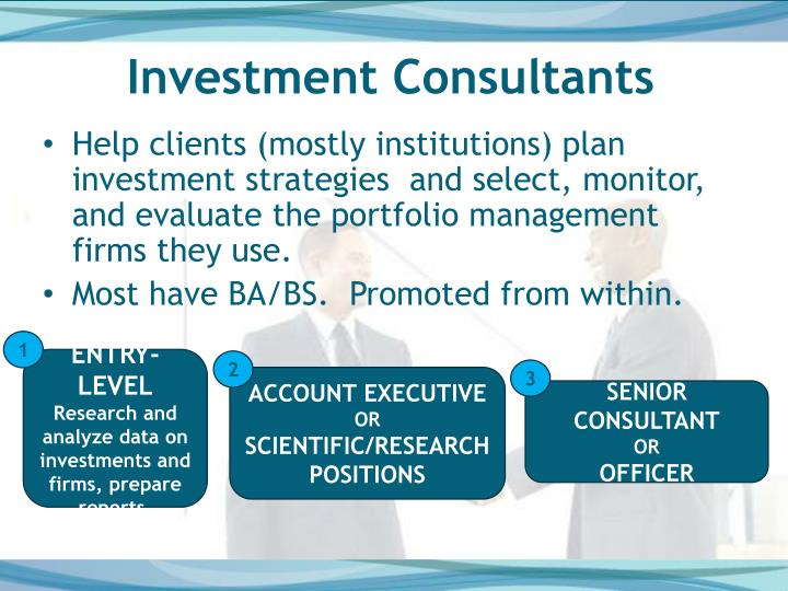 Investment Consultants