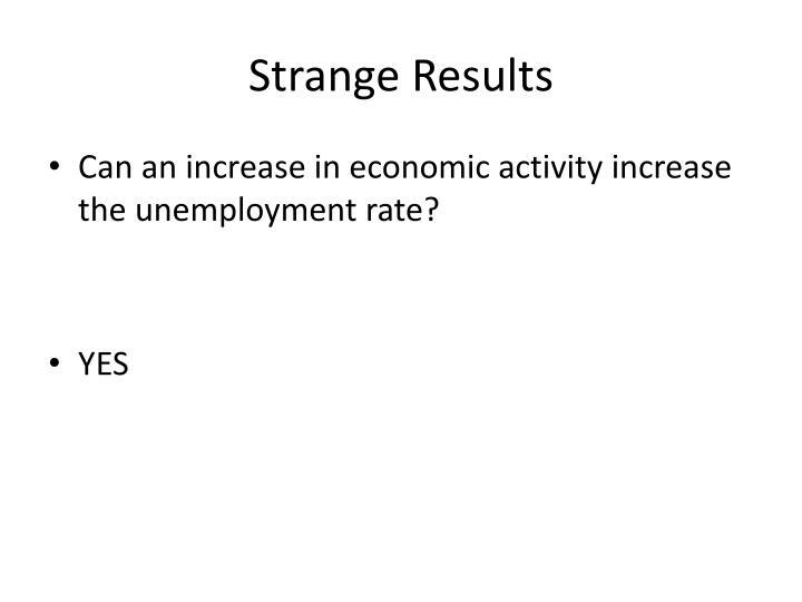 Strange Results