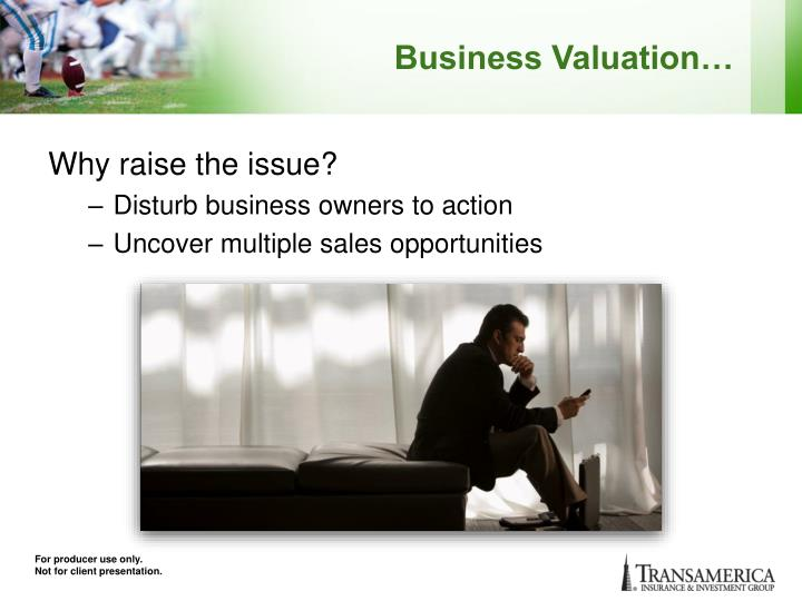 Business Valuation…