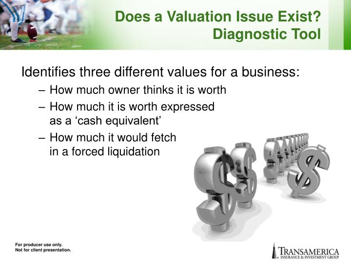 Does a Valuation Issue Exist?
