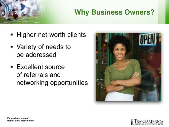 Why Business Owners?