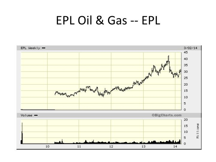 EPL Oil & Gas -- EPL