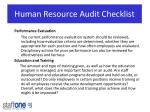 human resource audit checklist1
