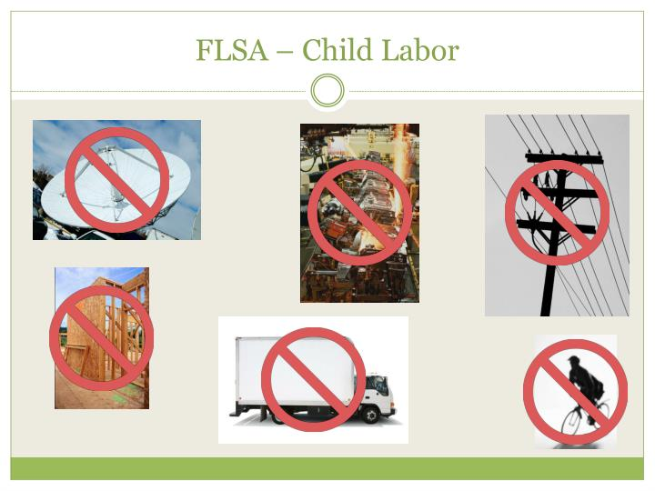 FLSA – Child Labor