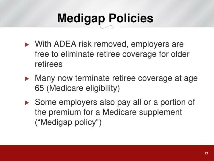 Medigap Policies