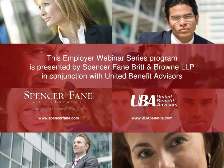 This Employer Webinar Series program