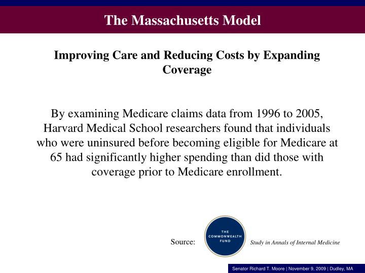The Massachusetts Model