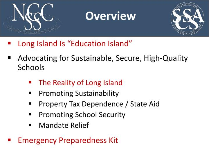 "Long Island Is ""Education Island"""