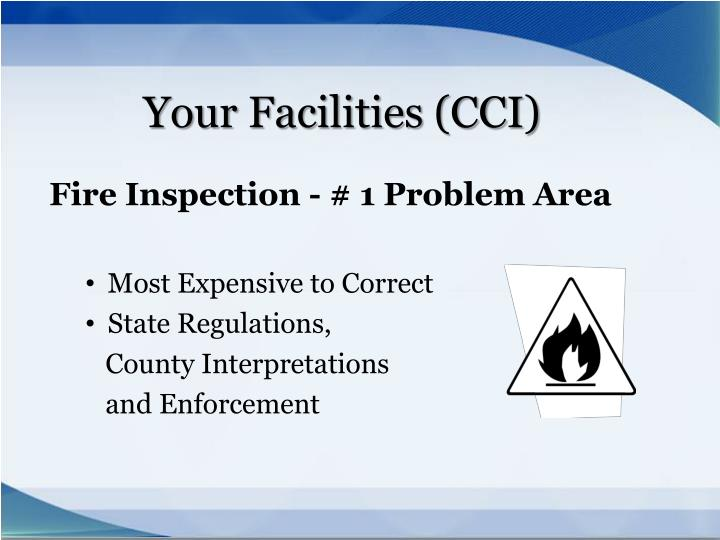 Your Facilities (CCI)