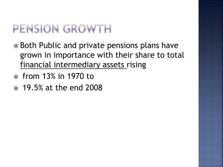 Pension Growth