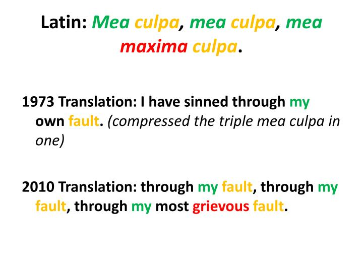 Latin: