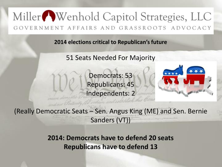 2014 elections critical to Republican's future