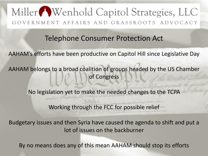 Telephone Consumer Protection Act