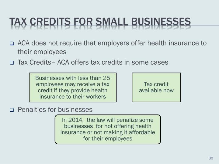 ACA does not require that employers offer health insurance to their employees