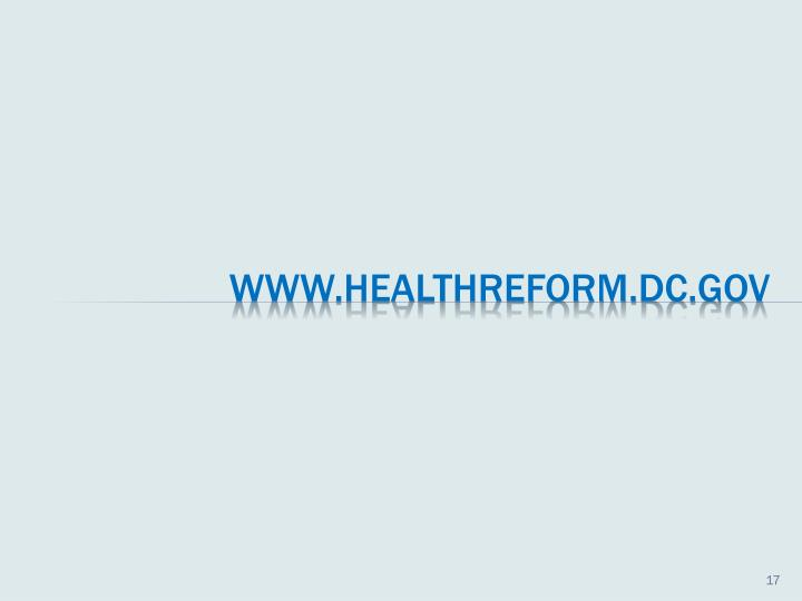 For More Information about Health Care Reform and Upcoming Meetings, visit the HRIC website