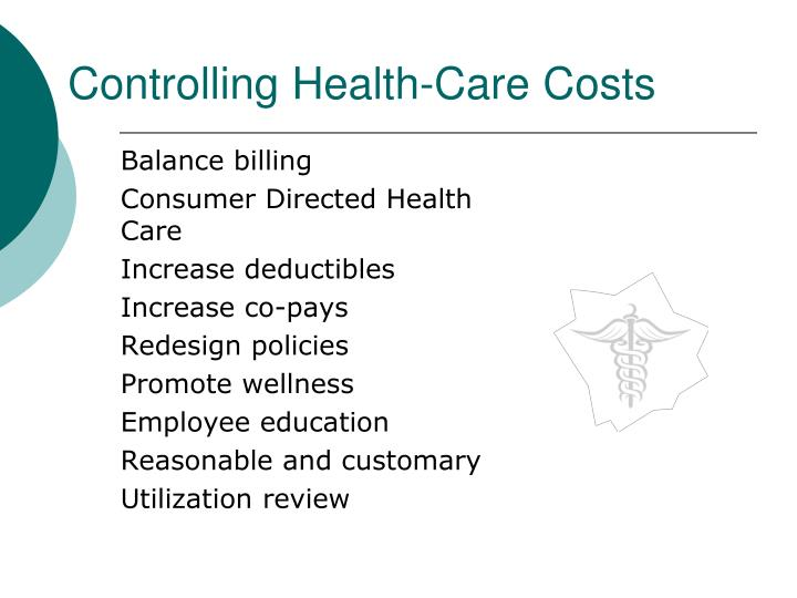 Controlling Health-Care Costs