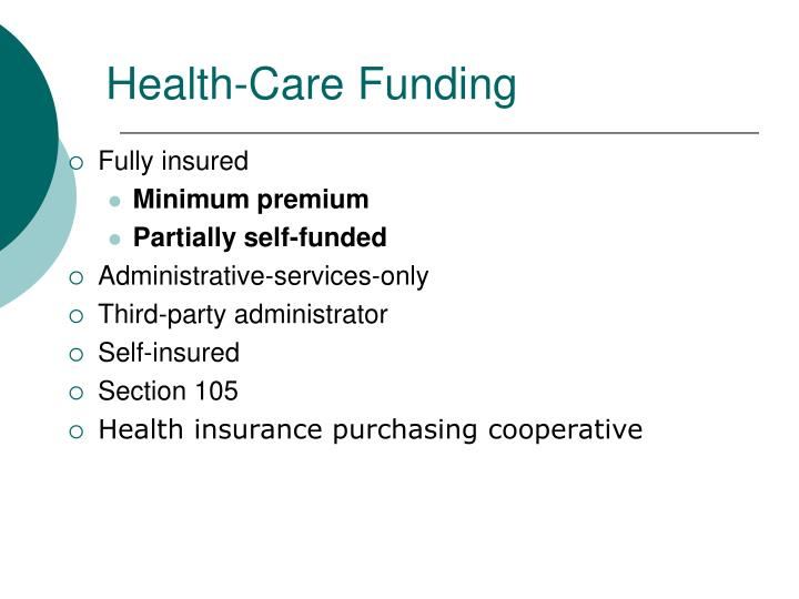 Health-Care Funding