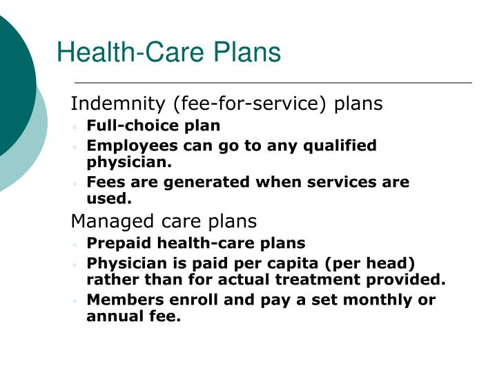 Health-Care Plans