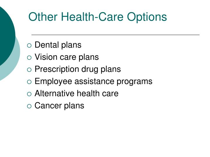 Other Health-Care Options