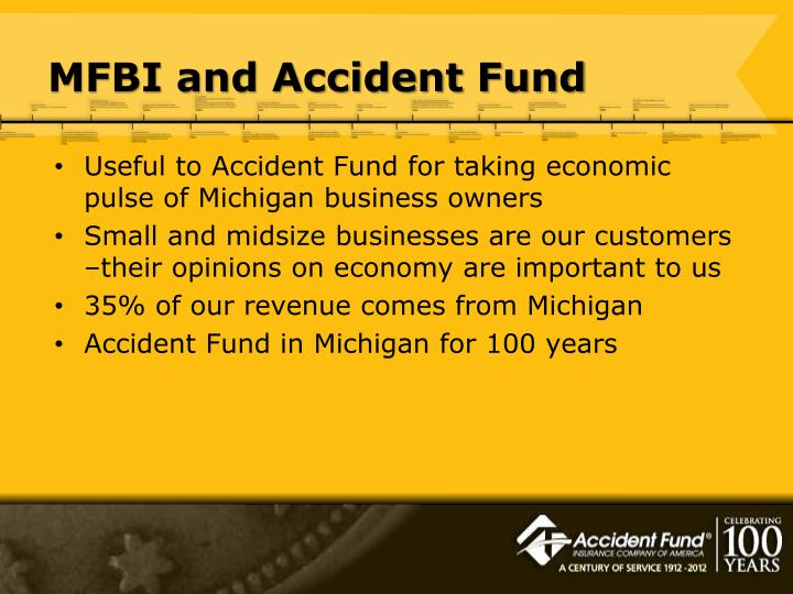 MFBI and Accident Fund