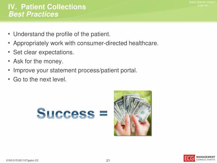 IV.  Patient