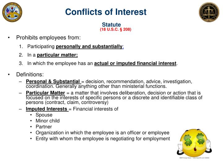 Conflicts of Interest