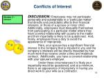 conflicts of interest7
