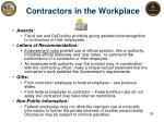 contractors in the workplace1