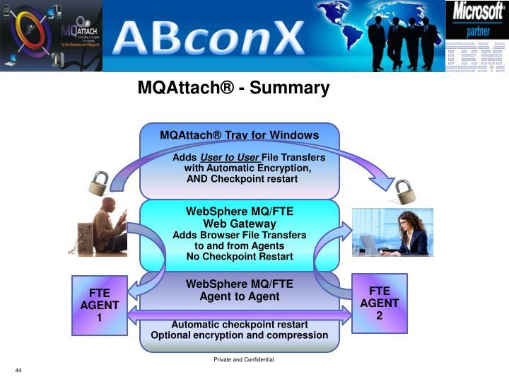 MQAttach® - Summary