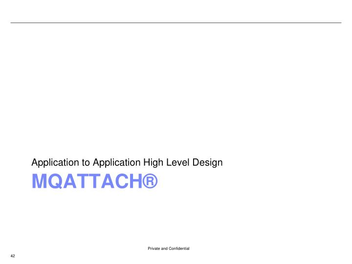 Application to Application High Level Design
