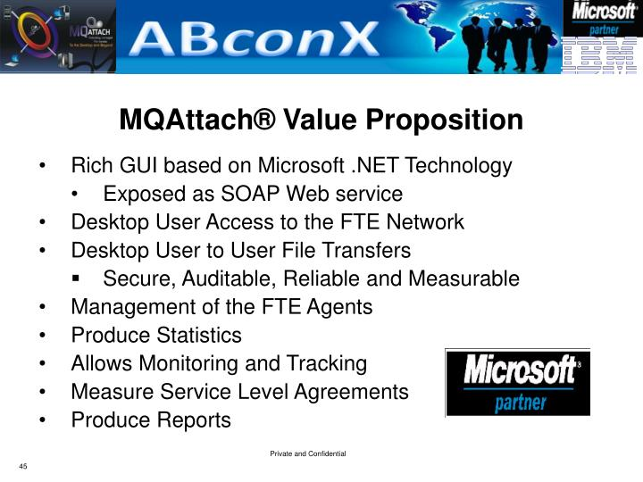 MQAttach® Value Proposition