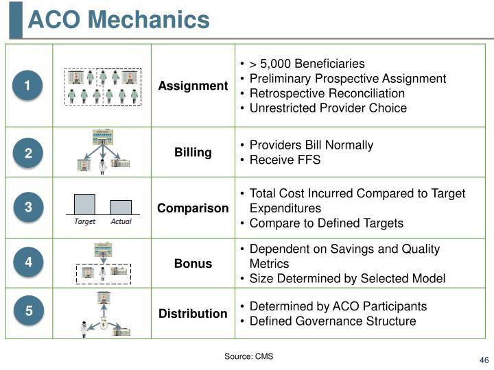 ACO Mechanics