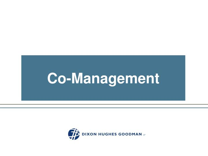 Co-Management