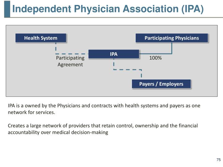 Independent Physician Association (IPA)
