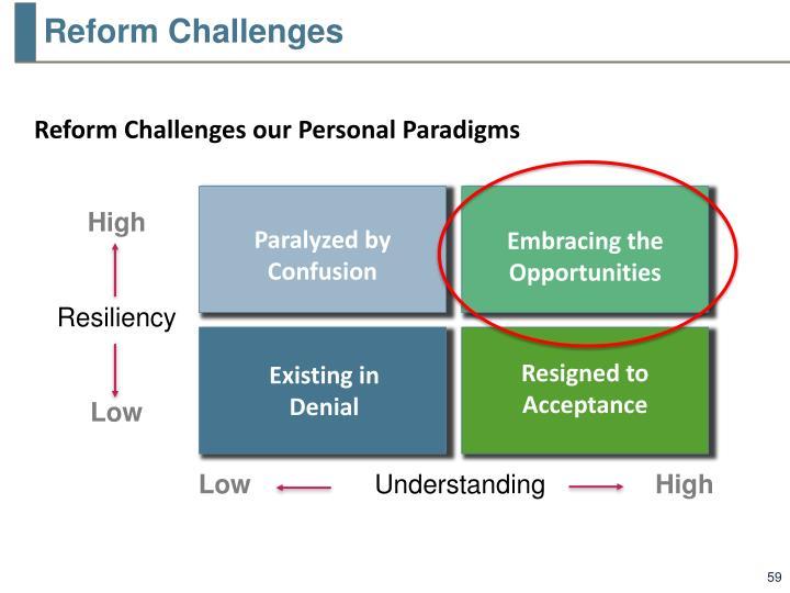 Reform Challenges