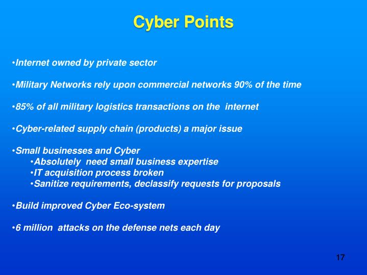 Cyber Points