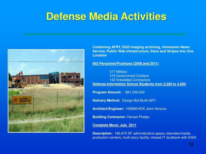 Defense Media Activities