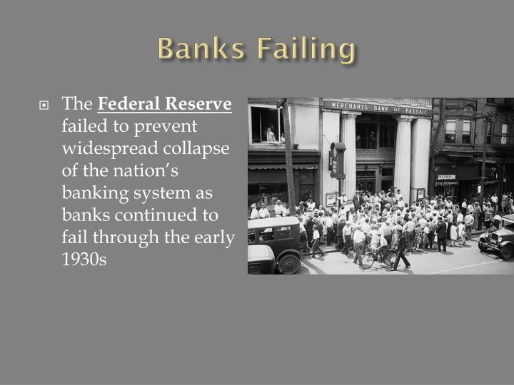 Banks Failing