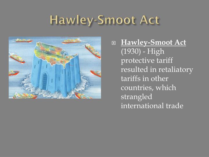 Hawley-Smoot Act