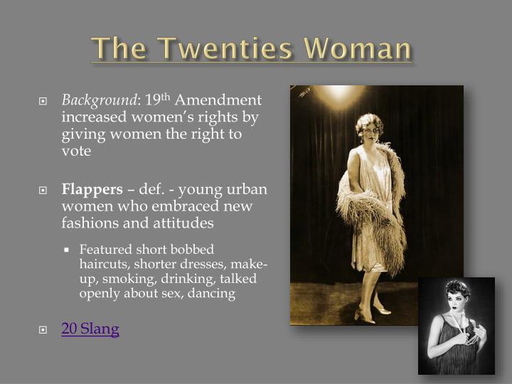 The Twenties Woman