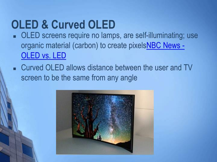 OLED & Curved OLED