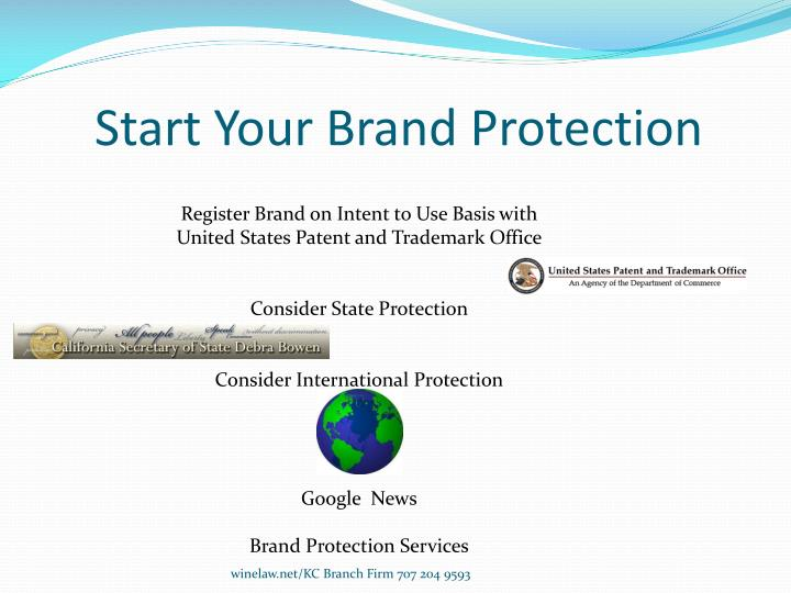 Start Your Brand Protection