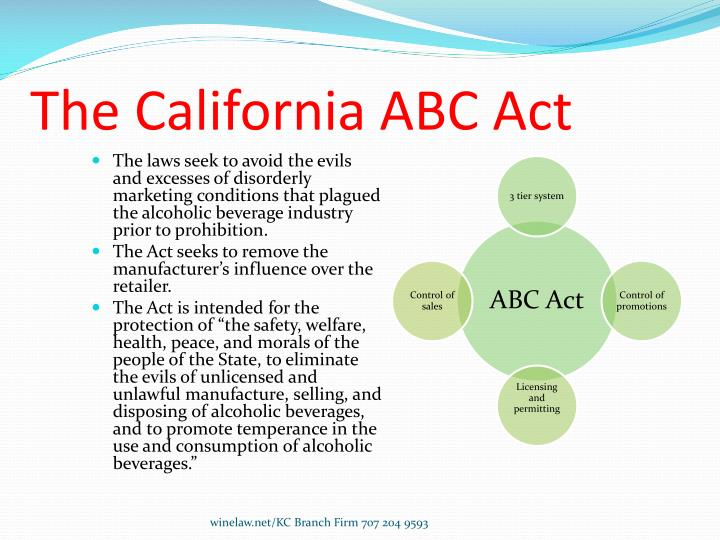 The California ABC Act