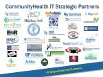 communityhealth it strategic partners