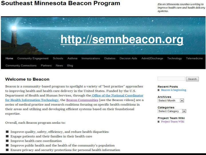 http://semnbeacon.org