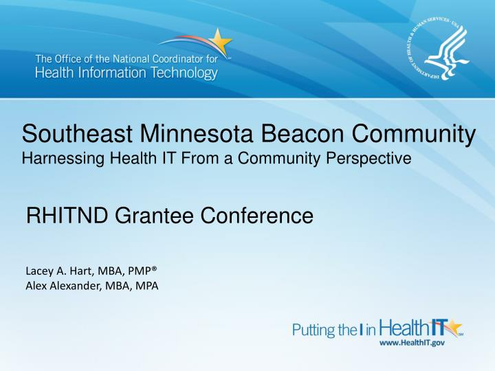 Southeast Minnesota Beacon Community