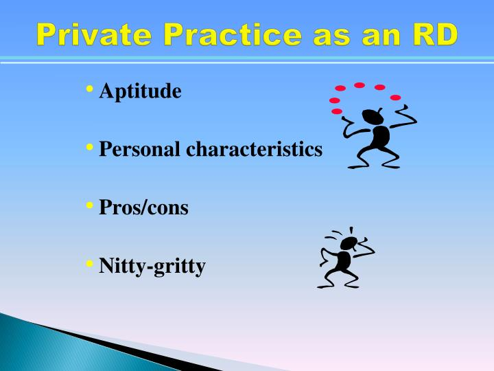 Private Practice as an RD