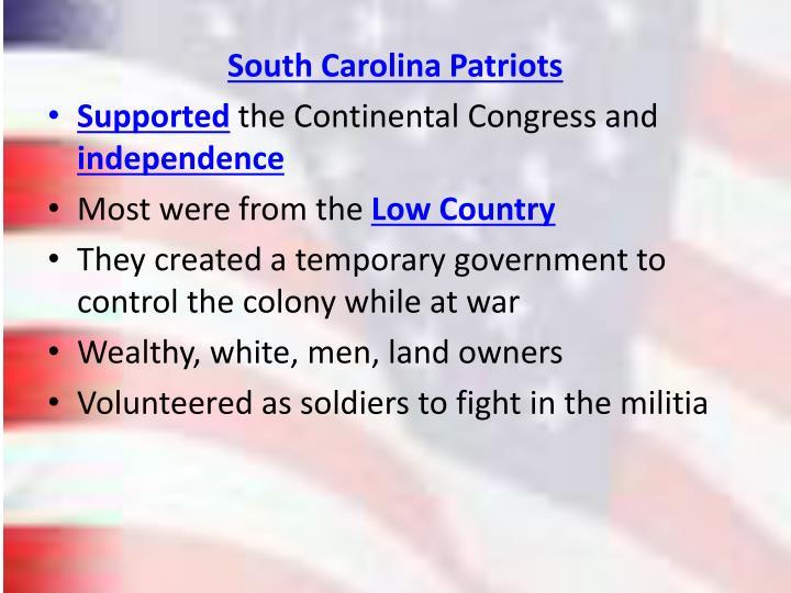 South Carolina Patriots